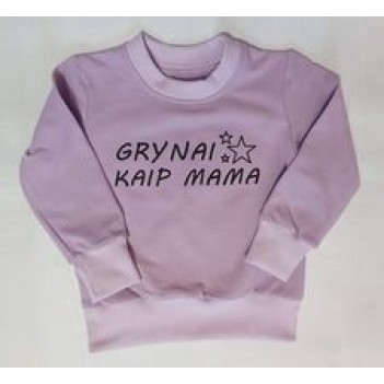 """Džemperiukai """"Grynai kaip Mama"""""""