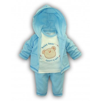 "Komplektukas berniukui ""Baby bear"" žydras"