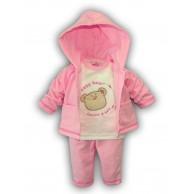"Komplektukas mergaitei ""Baby bear"" rožinis"