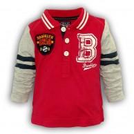 """Marškinėliai berniukui Minoti """"Brooklyn 1958"""" raudonos sp."""